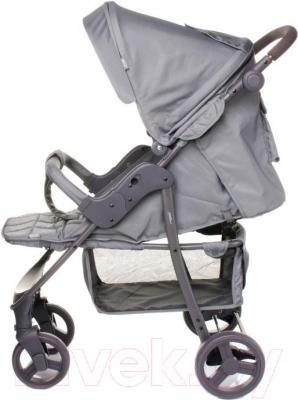 Детская прогулочная коляска 4Baby Rapid 2016 (фиолетовый) - в сером цвете