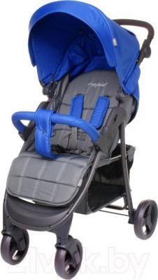 Детская прогулочная коляска 4Baby Rapid 2016 (синий)