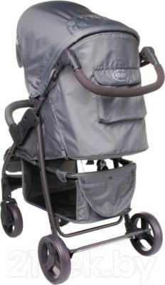 Детская прогулочная коляска 4Baby Rapid 2016 (черный) - в сером цвете