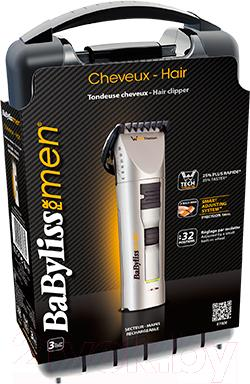 Машинка для стрижки волос BaByliss W-tech Titanium E780E - коробка