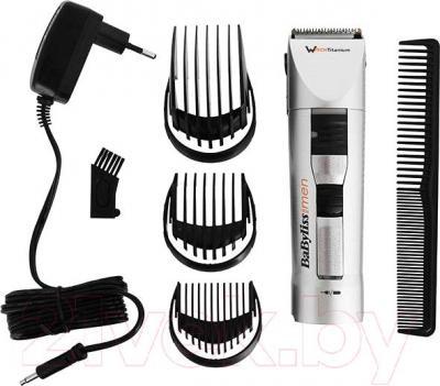Машинка для стрижки волос BaByliss W-tech Titanium E780E - комплектация