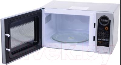 Микроволновая печь Daewoo KOR-6L7BS - с открытой дверцей 2