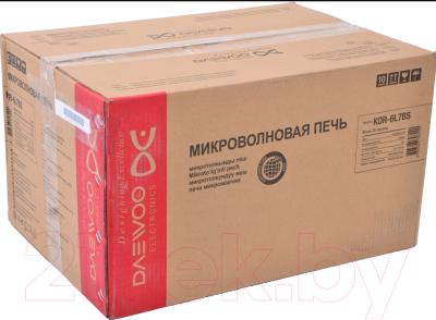 Микроволновая печь Daewoo KOR-6L7BS - коробка