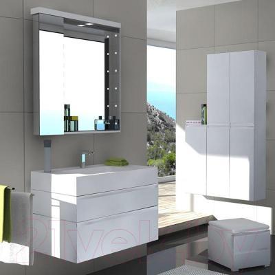 Шкаф с зеркалом для ванной Акватон Ричмонд 80 (1A152602RD010)
