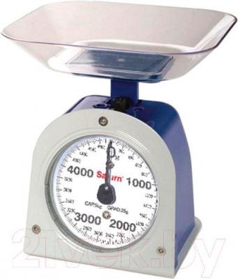Кухонные весы Saturn ST-KS1236 (синий)