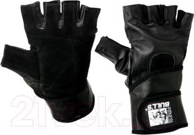 Перчатки для пауэрлифтинга Bulls FG-503-XL - общий вид пары