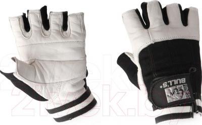 Перчатки для пауэрлифтинга Bulls FG-516-L