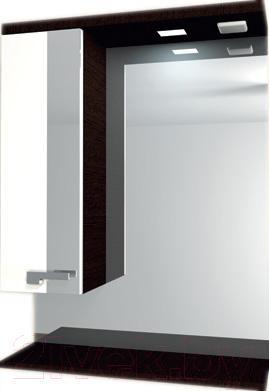Шкаф с зеркалом для ванной Asomare Мокка 60 (35.24)