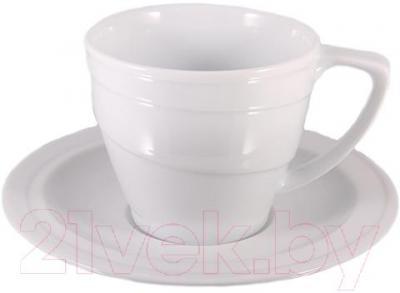 Чашка с блюдцем BergHOFF Нotel 1690209