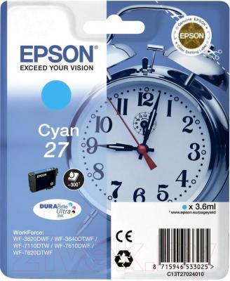 Картридж Epson C13T27024020