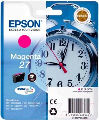 Картридж Epson C13T27034020