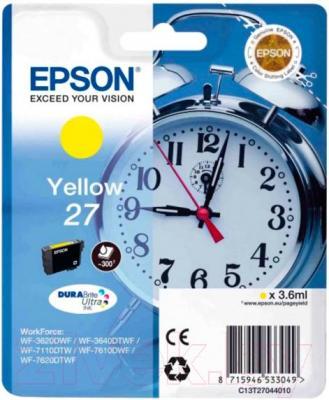 Картридж Epson C13T27044020