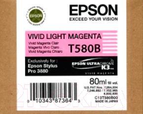 Картридж Epson C13T580B00
