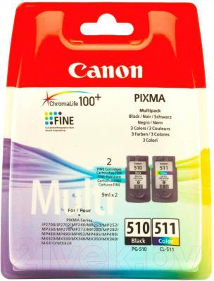 Комплект картриджей Canon PG-510/CL-511 Multipack