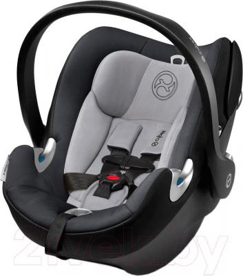 Автокресло Cybex Aton Q Plus (Storm Cloud)