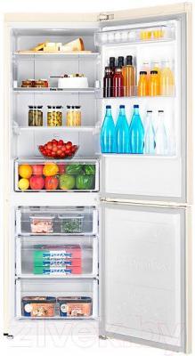 Холодильник с морозильником Samsung RB33J3220EF/WT