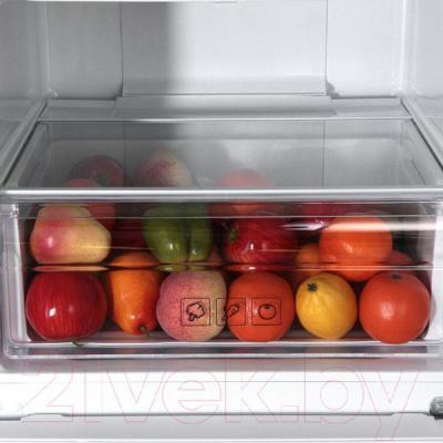 Холодильник с морозильником Samsung RB33J3300WW/WT