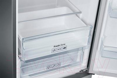 Холодильник с морозильником Samsung RB37J5440SA/WT