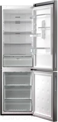 Холодильник с морозильником Samsung RL53GTBMG/WT