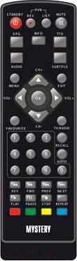 Тюнер цифрового телевидения Mystery MMP-76DT2 - пульт