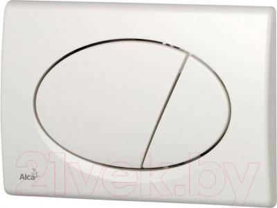 Кнопка для инсталляции Alcaplast M70 (белый)