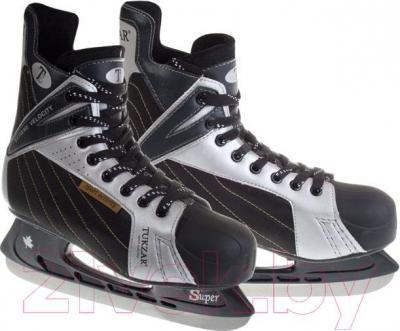 Коньки хоккейные Tukzar TZ-216C (размер 34)