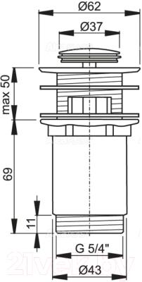 Выпуск (донный клапан) Alcaplast A391