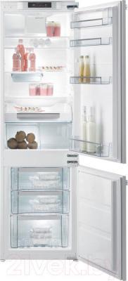 Холодильник с морозильником Gorenje NRKI4181LW