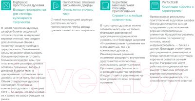 Электрический духовой шкаф Gorenje BO635E11BK-2 - Технология очистки паром