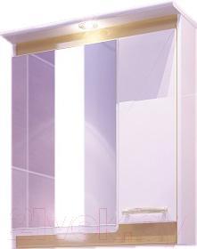 Шкаф с зеркалом для ванной Sfarzo Amber 60