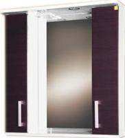Шкаф с зеркалом для ванной Eva Gold Still 70 (венге) -