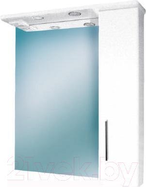 Шкаф с зеркалом для ванной Eva Gold Utro 75 R