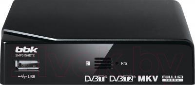 Тюнер цифрового телевидения BBK SMP015HDT2 (черный)