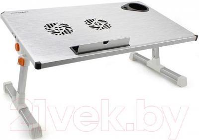 Подставка для ноутбука Crown Micro CMLS-101 (серебристый)