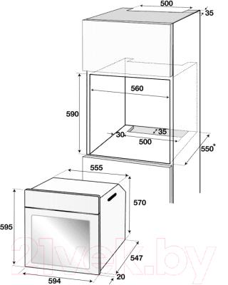 Электрический духовой шкаф Beko BIC22100X