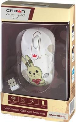 Мышь Crown Micro CMM-928W (кролик)
