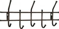 Вешалка для одежды Sheffilton Стандарт 2/5 В2-5-5 (медь/черный) -