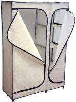 Тканевый шкаф Sheffilton 2016 (слоновая кость) -