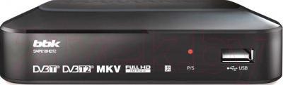 Тюнер цифрового телевидения BBK SMP018HDT2 (темно-серый)