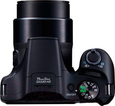 Компактный фотоаппарат Canon Powershot SX530 HS (черный)