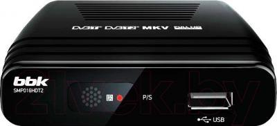 Тюнер цифрового телевидения BBK SMP016HDT2 (черный)