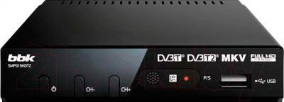 Тюнер цифрового телевидения BBK SMP019HDT2 (черный)