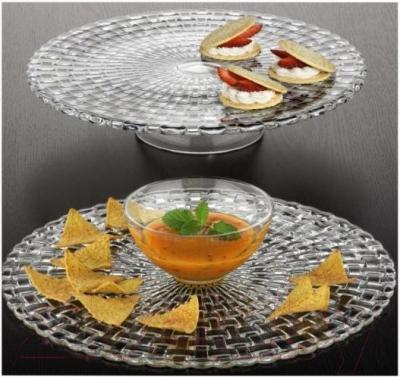 Блюдо Nachtmann Dancing Stars Bossa Nova (для чипсов и соуса) - вариант сервировки