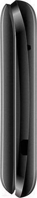Мобильный телефон Qumo Push 185 (черный) - вид сбоку
