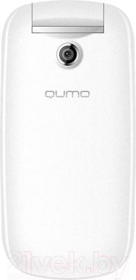 Мобильный телефон Qumo Push 185 (белый) - вид сверху