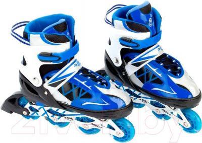 Роликовые коньки Bradex SF 0069 (L, синий)