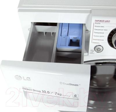 Стирально-сушильная машина LG FH4A8JDH2N