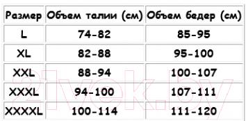 Шорты для похудения Bradex Мега Слим KZ 0181 (XXXХL)