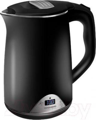 Электрочайник Redmond RK-M125D (черный) - цвет чайника: черный с элементами из нержавеющей стали/цвет уточняйте при заказе
