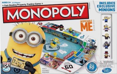Настольная игра Hasbro Монополия. Миньоны. Гадкий Я A2574